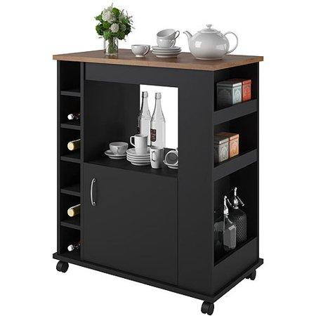 Ameriwood Home Williams Kitchen Cart. (Photo: Walmart)