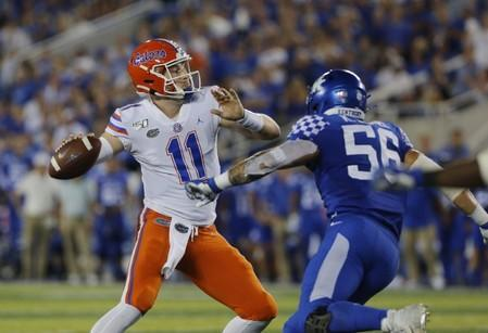 NCAA Football: Florida at Kentucky