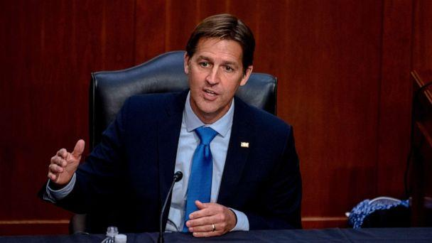 PHOTO: Sen. Ben Sasse speaks during the confirmation hearing for Supreme Court nominee Amy Coney Barrett, before the Senate Judiciary Committee on Capitol Hill, in Washington, Oct. 14, 2020. (Hilary Swift/AP)