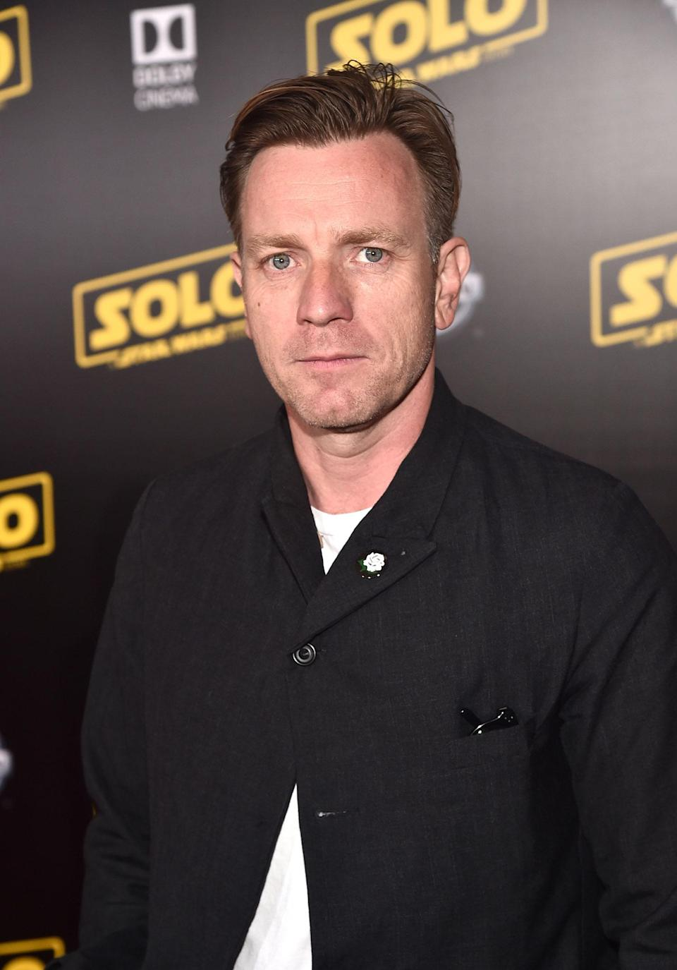 <p>Ewan McGregor, star of the Star Wars prequels. (2018 Getty Images) </p>