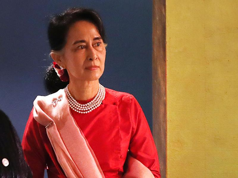 Aung San Suu Kyi said she would step down if Burmese people thought her