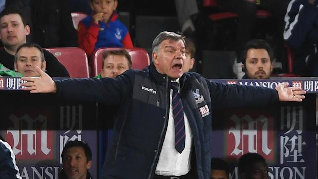 Crystal Palace's 3-0 Premier League win over Arsenal on Monday was down to the work rate of his side, said manager Sam Allardyce.
