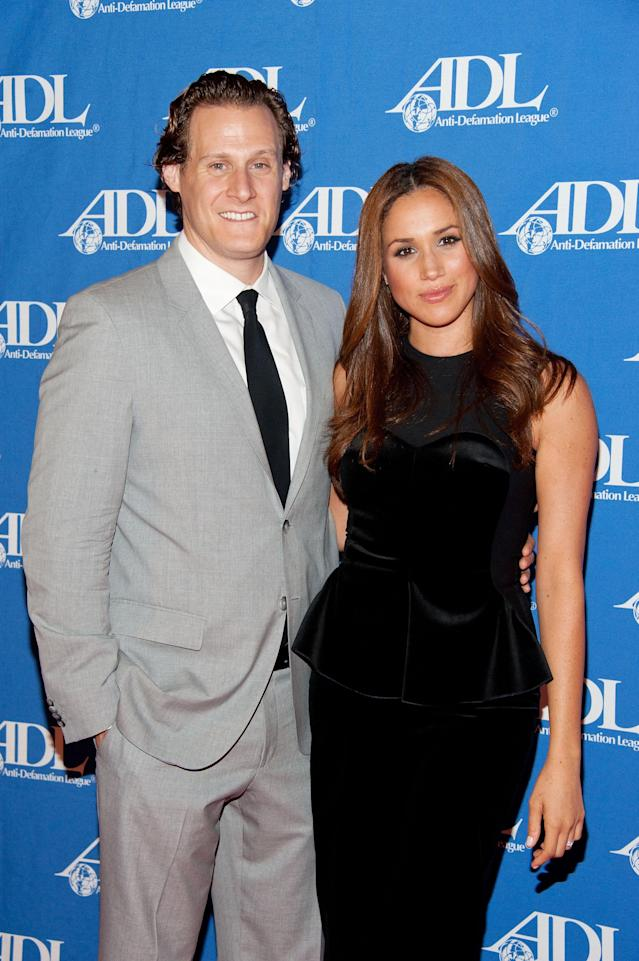 Meghan Markle and her now ex-husband, Trevor Engelson, in 2011. (Photo: Amanda Edwards/Getty Images)