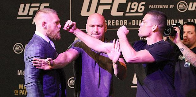Nate Diaz vs. Conor McGregor 2 Nearing Finality, Contracts Reportedly Issued