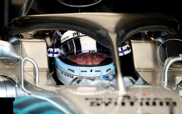 Motoracing - Formula One F1 - Monaco Grand Prix - Circuit de Monaco, Monte Carlo, Monaco - May 24, 2018 Mercedes' Valtteri Bottas before practice REUTERS/Benoit Tessier