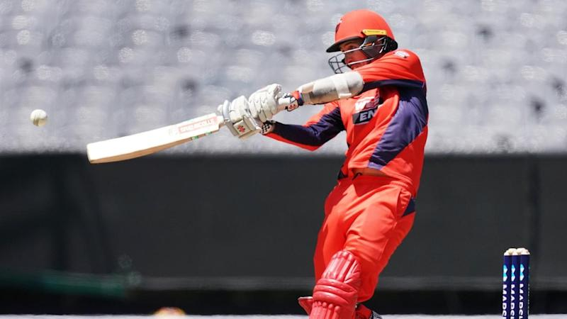 A scintillating 46-ball 81 by Tom Cooper was key as South Australia edged a thriller with Victoria