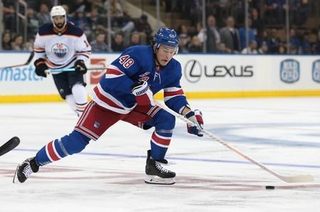 NHL: Edmonton Oilers at New York Rangers