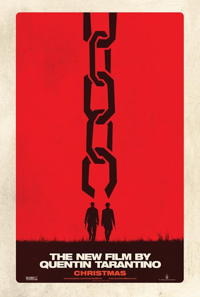 <b>The Best: DJANGO UNCHAINED</b><br><br>This minimalist throwback for Quentin Tarantino's latest feature looks like it was recently unearthed after decades in the dusty closet of a grindhouse theater.