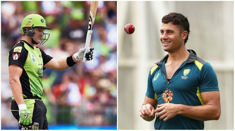 Shane Watson and Marcus Stoinis