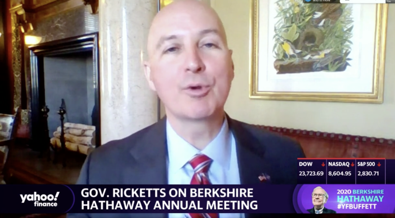 "Nebraska Gov. Pete Ricketts appears on Yahoo Finance's ""Final Round."""