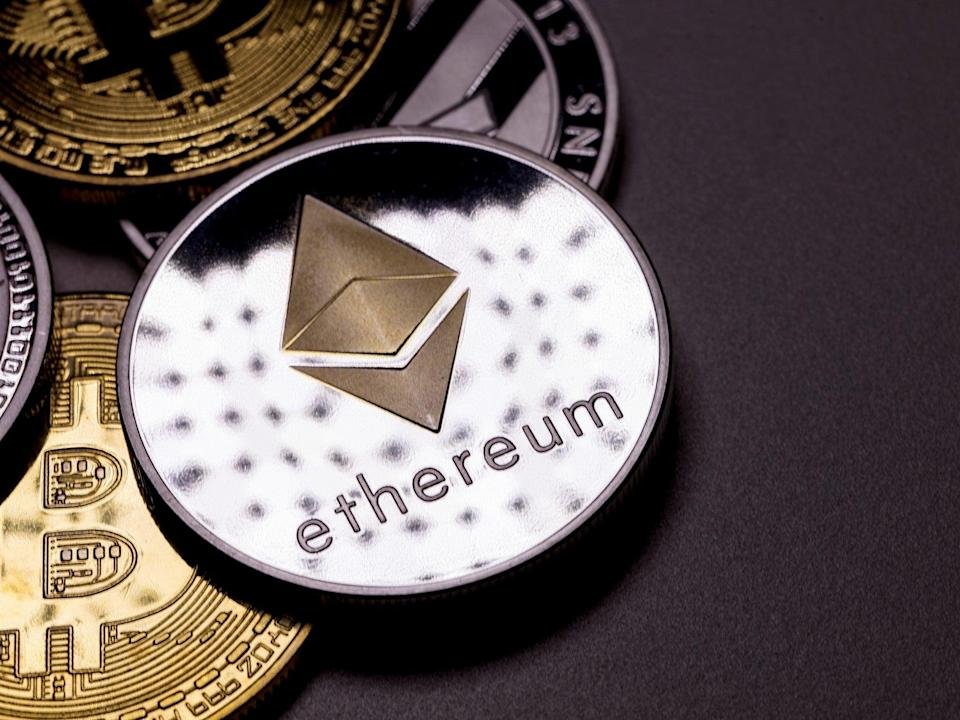 Ethereum has outperformed price gains seen by bitcoin in 2021 by 3-to-1 (Getty Images)