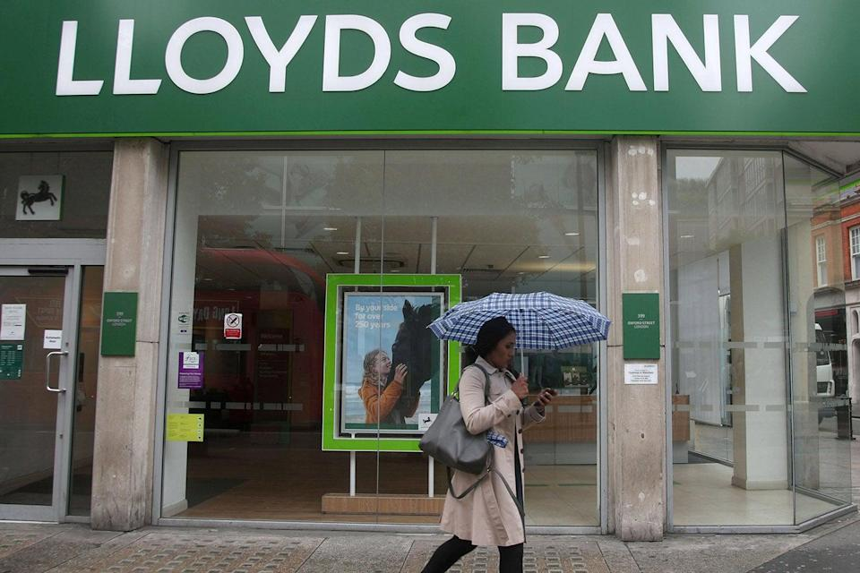 <p>Could go higher: Lloyds shares have jumped since October</p> (PA)