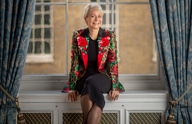 Harriet Green at King's College London. Photo: David Tett