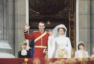 <p>While the nuptials of Princess Anne and Mark Phillips were nowhere near as influential as Princess Diana's wedding would be eight years later, their wedding did embody some classic '70s wedding style—just check out Anne's turtleneck style dress. </p>