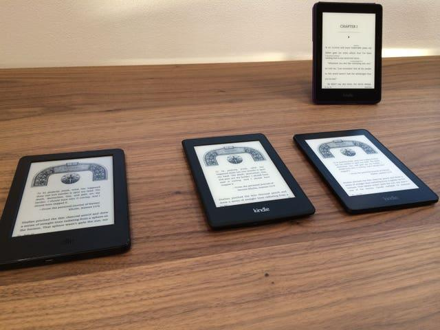 The Amazon Kindle was launched in 2007