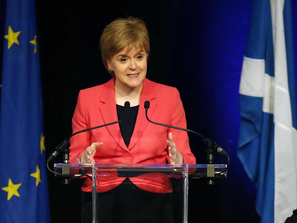 SNP leader and Scotland's first minister Nicola Sturgeon (PA)