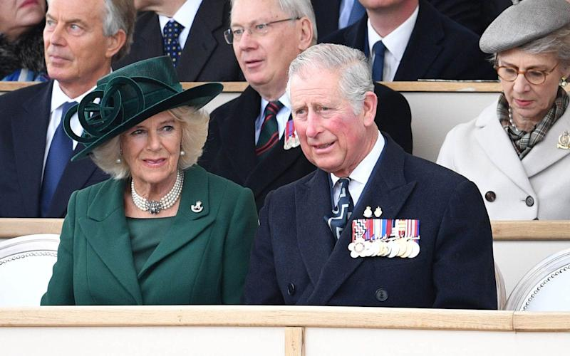 The Duchess of Cornwall and Prince of Wales were among guests - Credit: Rex