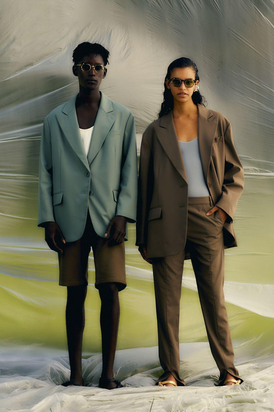 "<p>Sleek and subtle with just a hint of drama, Tibi's spring/summer 2021 collection was all about relaxed dressing up with <a href=""https://www.vogue.com/fashion-shows/spring-2021-ready-to-wear/tibi"" rel=""nofollow noopener"" target=""_blank"" data-ylk=""slk:the designer explaining"" class=""link rapid-noclick-resp"">the designer explaining</a> that she wanted to be able to wear every piece in her living room ""without feeling ridiculous"". Loose-fitting suits and comfortable yet chic dresses and separates certainly fitted this criteria, giving women everywhere an opportunity to update their working-from-home wardrobes next spring.</p>"