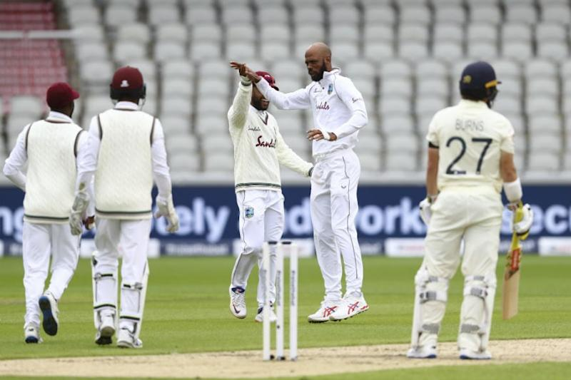 England vs West Indies: Roston Chase Gives WI Early Wicket as Lunch is Taken With England at 29/1