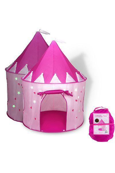 """<p>$23</p><p><a rel=""""nofollow noopener"""" href=""""https://www.amazon.com/Princess-conveniently-Carrying-Foldable-Outdoor/dp/B0120XRWLE/ref=pd_ybh_a_26"""" target=""""_blank"""" data-ylk=""""slk:SHOP NOW"""" class=""""link rapid-noclick-resp"""">SHOP NOW</a><br></p><p>Any corner of the basement or backyard can be instantly transformed into a fairytale kingdom with this easy pop-up tent. </p>"""