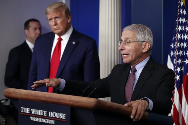 White House blocks Anthony Fauci from testifying before Congress