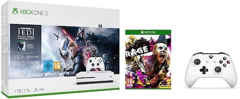 black friday deal Xbox One S 1TB Console Star Wars Jedi Fallen Order Bundle