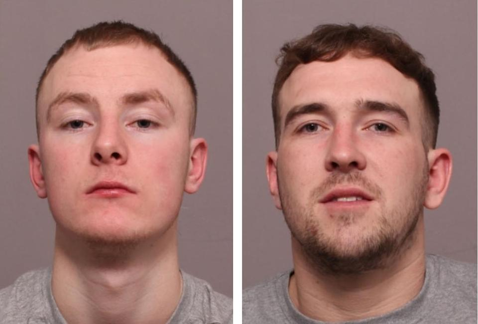 Charles Frances Mcauley and Thomas Jervis were found guilty of murder (Leicestershire Police)