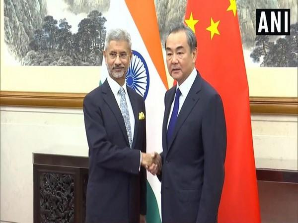 EAM S Jaishankar with Chinese Foreign Minister Wang Yi. (File Photo)