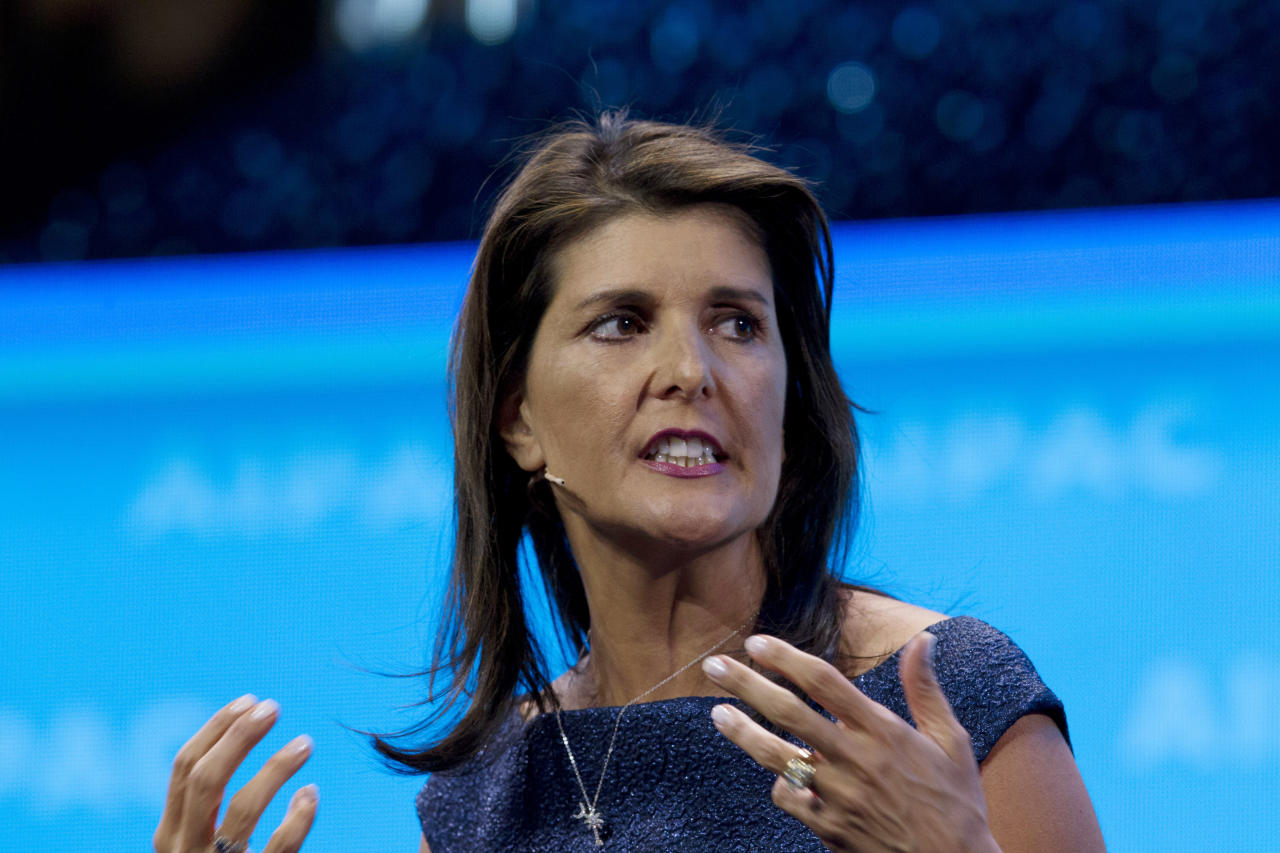 Photo of Might Haley's function in Trump administration taint a 2024 bid?