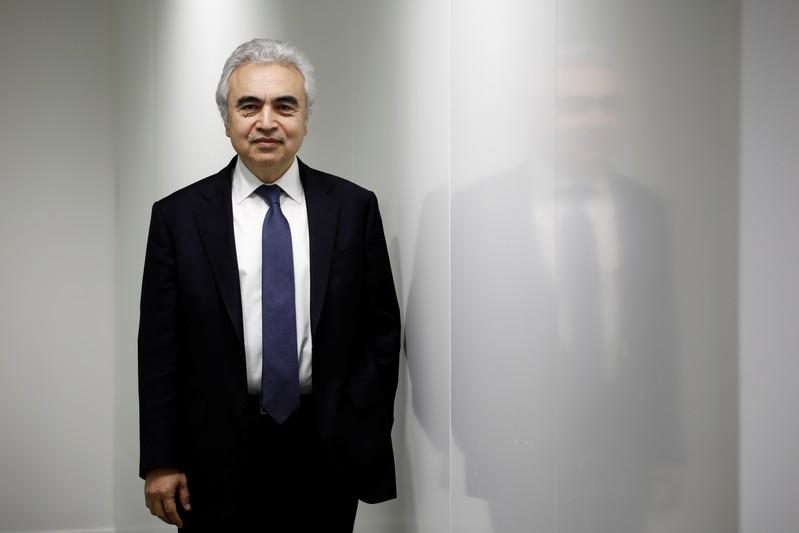 Fatih Birol, Executive Director of the International Energy Agency poses for a portrait at their offices in Paris