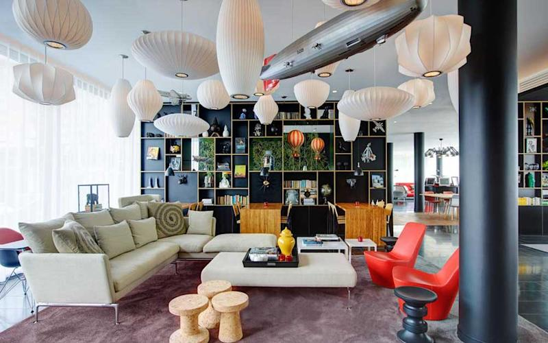 CitizenM Paris La Défense is one of a host of hip hotels re-defining business travel in Paris