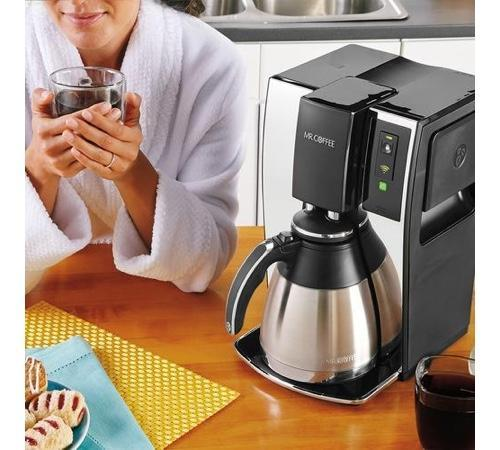 Web-connected Mr. Coffee coffee maker