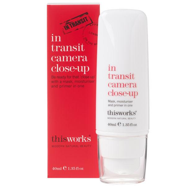 "<p>This mask, meets moisturiser meets primer, this<a href=""http://tidd.ly/f0666368"" target=""_blank""> Camera Close-up </a>£30 is a fantastic do-it-all product which can be used anytime during the flight. When used as a primer, it dries to a super smooth, non slippery finish. The perfect base for either no makeup, or the 'no makeup' makeup look.</p>"