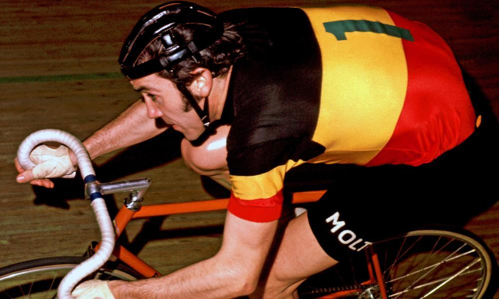 Eddy Merckx: one of only two people to have won cycling's Triple Crown