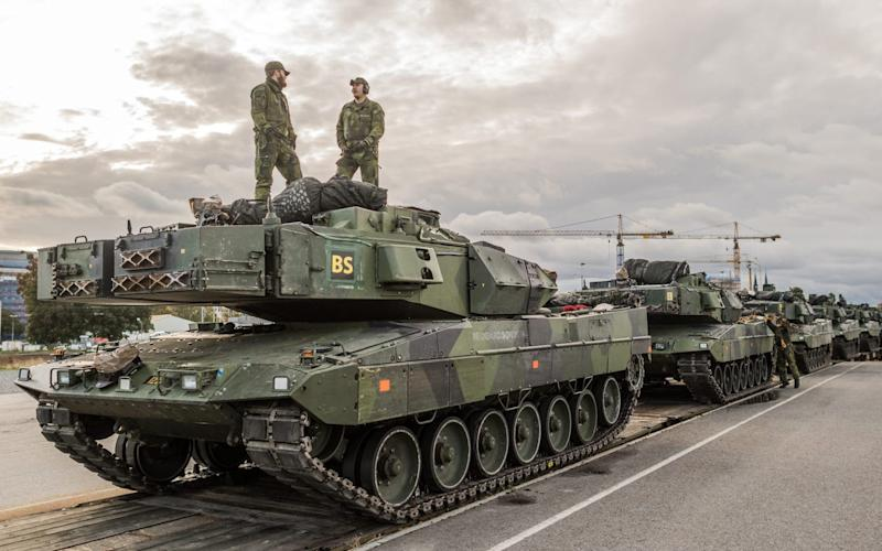Last year's Aurora-17 exercise was the biggest war game held in Sweden for 23 years - Swedish Armed Forces