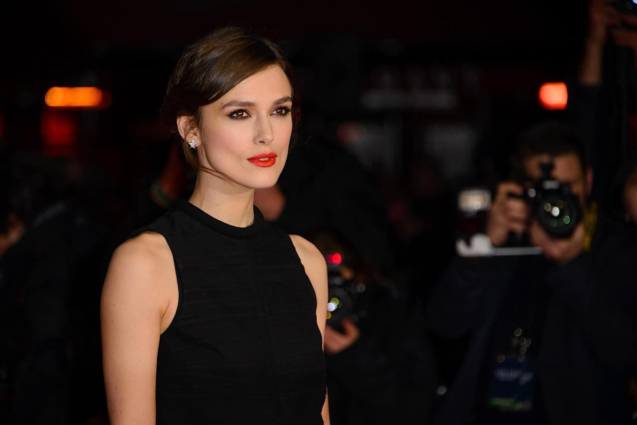 <p><strong>Auguri Keira Knightley: l'attrice inglese compe 33 anni</strong> </p>