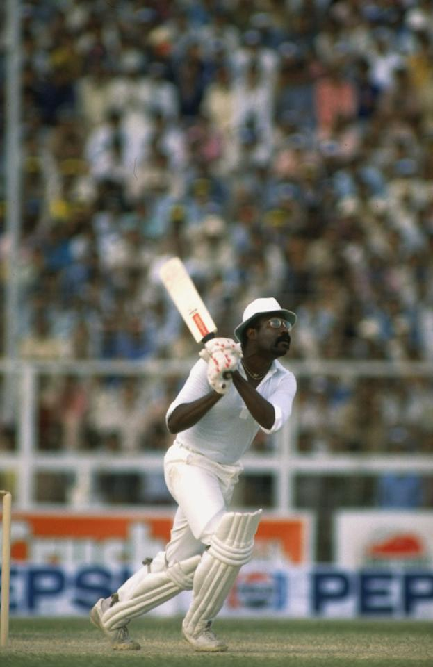 Jun 1979:  West Indies Captain Clive Lloyd in action during a match against Pakistan in Karachi, Pakistan. \ Mandatory Credit: Adrian  Murrell/Allsport