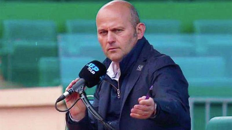 Italian umpire Gianluca Moscarella has been suspended by the ATP.