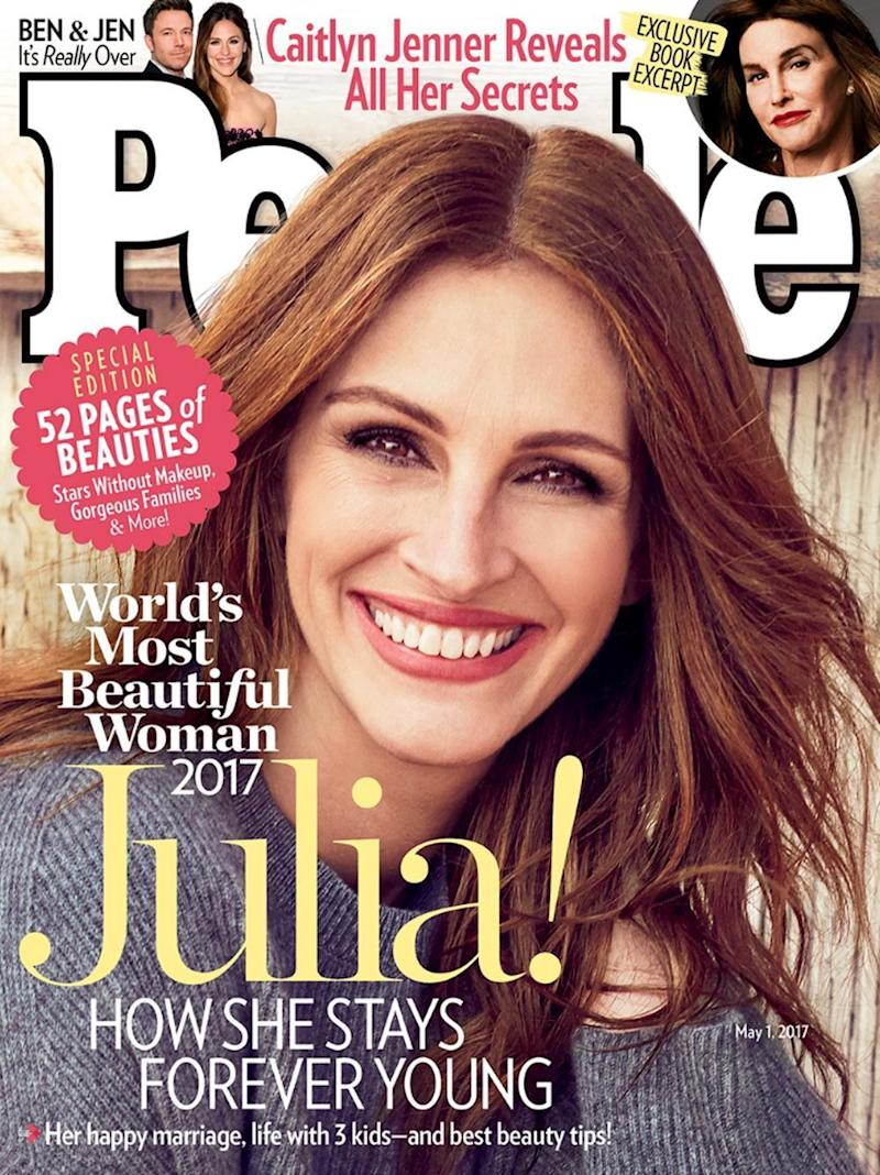 Cover star: Julia Roberts on the cover of People Magazine (People Magazine)