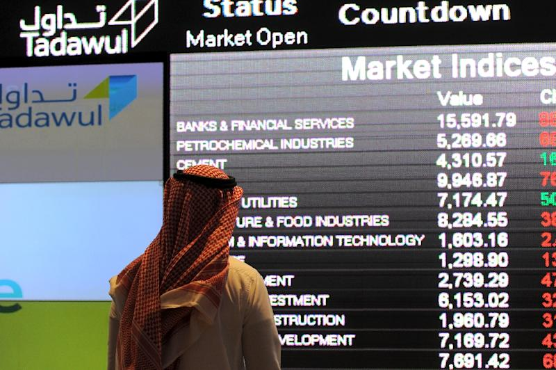 The Saudi stock market was up four percent on news that King Salman had named his powerful son as heir and that the exchange had moved closer to joining a major global index