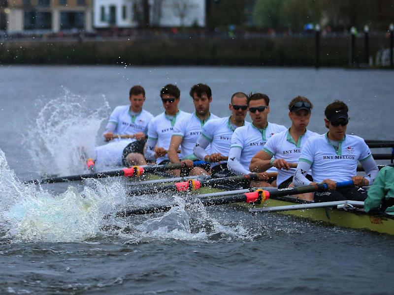 The ordinance was found near the boat race starting point: Getty Images