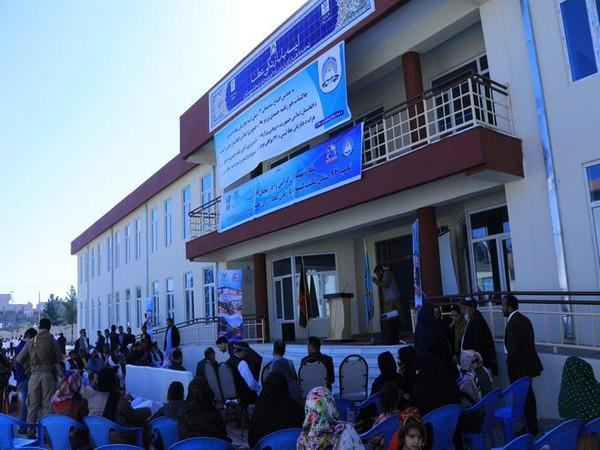 The two girls' schools have been built by Farid Foundation in Afghanistan's Herat city with the assistance of India. (Photo credit: Twitter/India in Afghanistan)