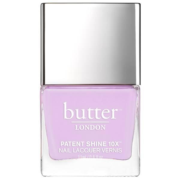 """<p>The moment has come for you to take a step back and relax. A lavender hue on your pincers will remind you to decompress and focus solely on yourself. You will feel as though you're floating on cloud nine just from wearing this charming shade of lavender on your nails.</p> <p>To shop: $18, <a href=""""https://www.butterlondon.com/english-lavender-patent-shine-10x-nail-lacquer"""" rel=""""sponsored noopener"""" target=""""_blank"""" data-ylk=""""slk:butterlondon.com"""" class=""""link rapid-noclick-resp"""">butterlondon.com</a></p>"""