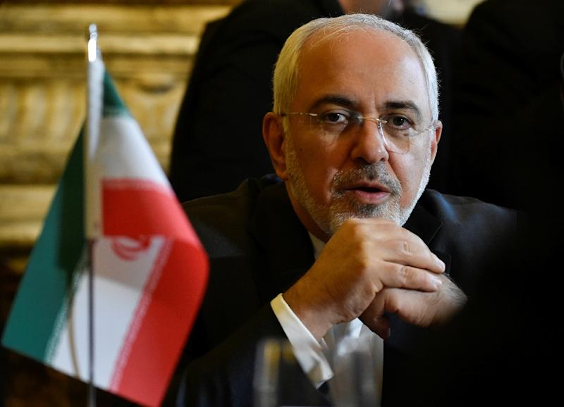 Iran's Foreign Minister Mohammad Javad Zarif said the 2015 nuclear deal with world powers could not be renegotiated (AFP Photo/JOHN THYS)