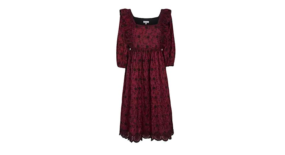 Ghost Ryleigh Embroidered Dress