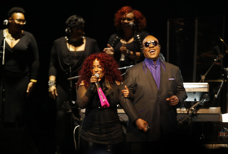 Stevie Wonder leads Prince tribute concert