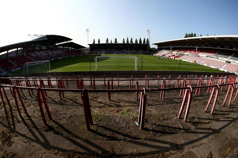 Wrexham play in the fifth-tier of English football Photo: Getty Images