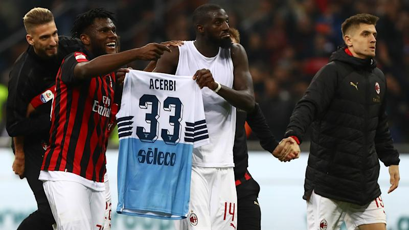 Lazio receive suspended ban for racial abuse of Franck Kessie and Tiemoue Bakayoko