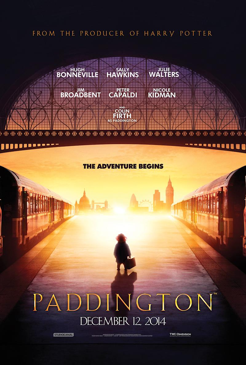 A Bear Called \'Paddington\' Arrives With the First Poster Reveal