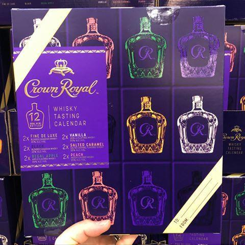 "<p>Costco already offers both wine and beer advent calendars, and this Crown Royal calendar is ideal for the person in your life that prefers whisky over anything. It comes with twelve 50mL bottles of the liquor in vanilla, salted caramel, peach, regal apple, lack, fine de luxe flavors. Two bottles of each flavor will be included for just $32.99.</p><p><a href=""https://www.instagram.com/p/CG7uUpUBWaz/"" rel=""nofollow noopener"" target=""_blank"" data-ylk=""slk:See the original post on Instagram"" class=""link rapid-noclick-resp"">See the original post on Instagram</a></p>"